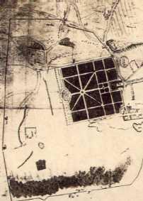 Plan du domaine de Versailles sous Louis XIII